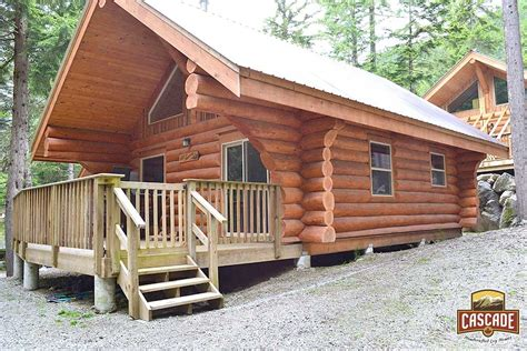 Handcrafted Log Cabins - log cabins cascade handcrafted log homes