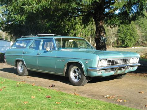 1966 impala wagon 1966 chevrolet impala 9 pass station wagon for sale
