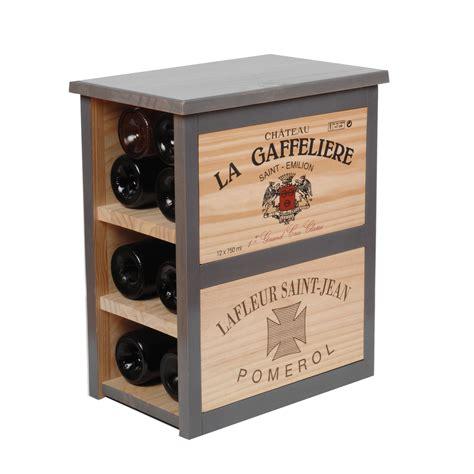 CAViDéCO   Rangement 6 bouteilles, meuble bas