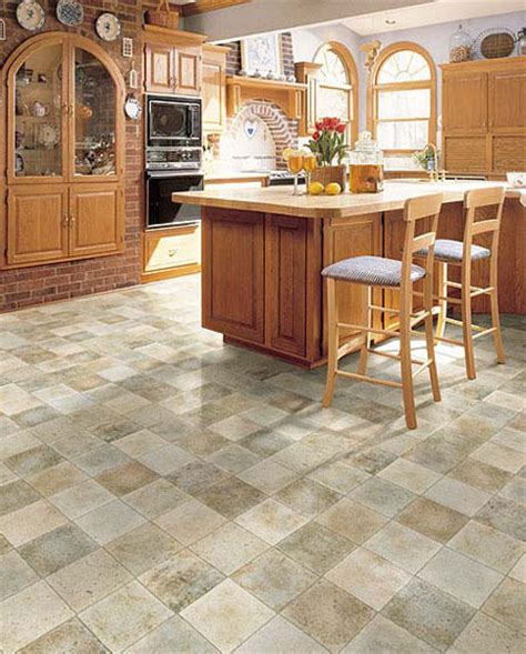 kitchen vinyl flooring ideas versatile