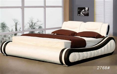 bed style luxury leather bed style home interior design 31788