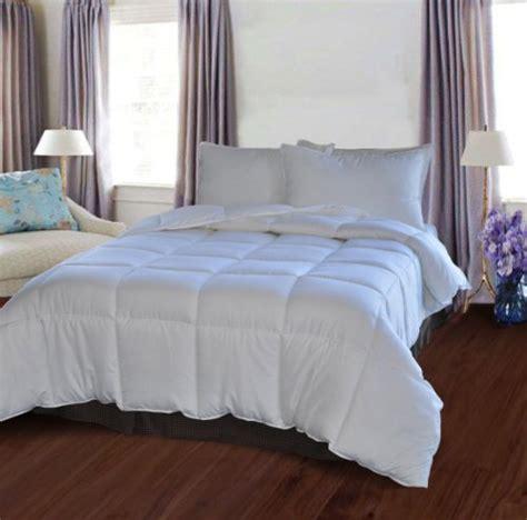 natural comfort down alternative comforter natural comfort white down alternative comforter with