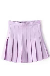 Light Purple Skirt by Light Purple Pleated High Waist Skater Skirt Skirts Maxi