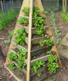 how to build a pyramid strawberry planter diy plans