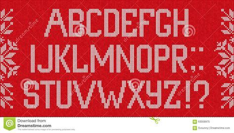 christmas pattern font family christmas font scandinavian style knitted letters and