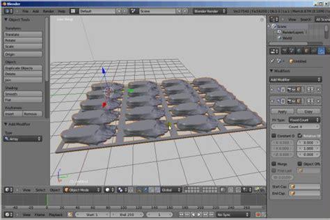 Tutorial Blender 3d Seri 10 tutorials