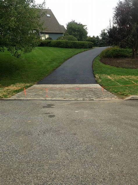 driveway apron cobblestone driveway aprons pristine green