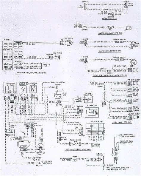 78 chevy truck wiring diagram 78 chevy wiring diagram wiring diagram