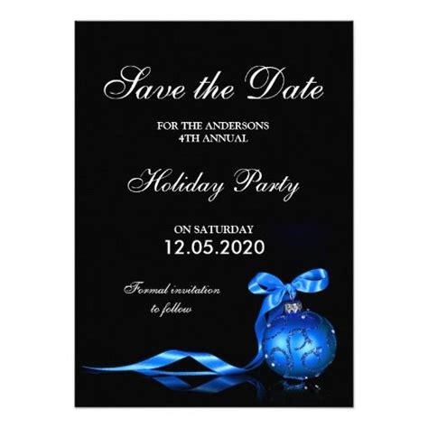 office date card template formal invitation save the date