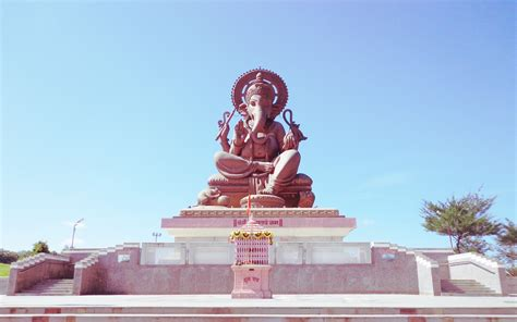 lord ganesh largest statue hd wallpapers rocks