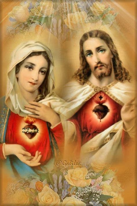 imagenes de jesus y maria en el cielo santa mar 237 a madre de dios y madre nuestra buscas a