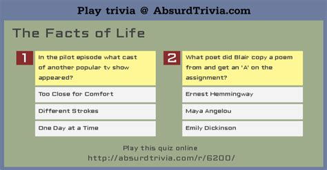 emily dickinson biography quiz trivia quiz the facts of life