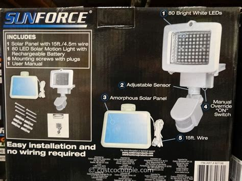led wireless motion sensor light costco solar motion light more views innoo tech solar motion