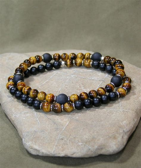 bead bracelets for guys bracelet for mens beaded bracelet tiger eye
