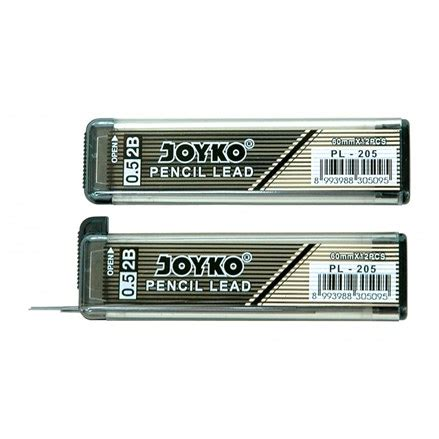 Isi Pensil Lead Kunci 2b 0 5mm jual isi pensil mekanik joyko pl 205 2b harga termurah