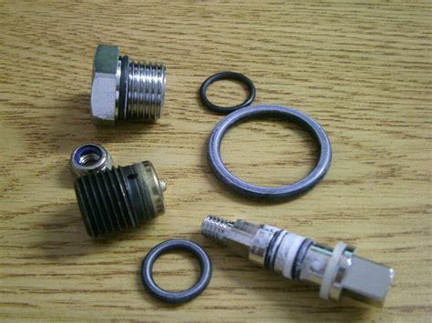 scuba diving tank valve genesis dive tank  valve rebuild parts kit  ebay