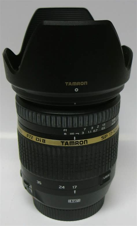 Tamron Sp Af 17 50mm F28 Xr Vc Di Ii Ld Aspherical If For Nikon tamron sp af 17 50mm f 2 8 xr di ii vc ld aspherical if lens canon mount