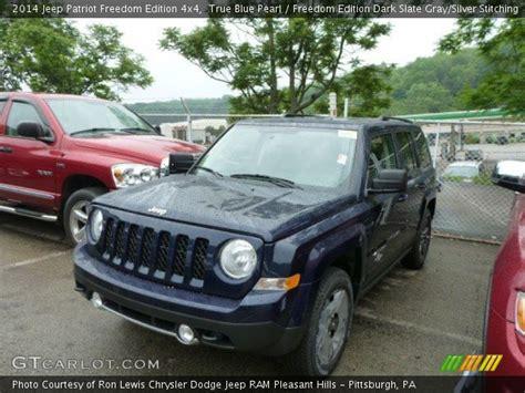 Jeep Patriot Freedom Edition True Blue Pearl 2014 Jeep Patriot Freedom Edition 4x4