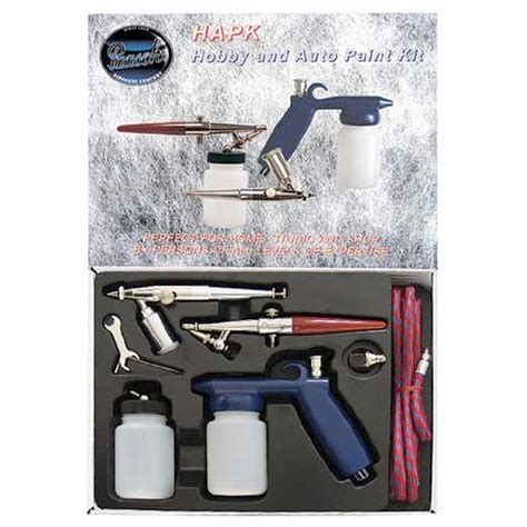 spray paint supplies kit paasche hapk 3 airbrush spray gun hobby auto paint kit ebay
