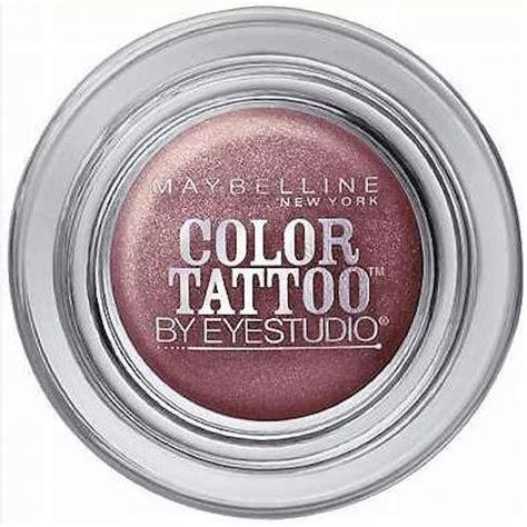 color tattoo cream eyeshadow maybelline maybelline color tattoo 24 hr eyeshadow 90 vintage plum