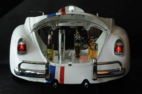 new retro vw car chic home bar vintage metal signs home vintage styled vw beetle herbie bar rolls your home