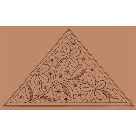 il giardino dei punti triangolo con margherite n 107 il giardino dei punti