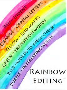 Rainbow Essay In by Rainbow Editing Teaching Writing