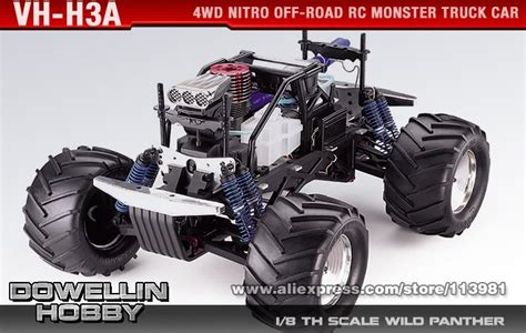 nitro rc monster truck kits 1 8 28cc kyosho giga crusher sf 4wd nitro off road rc