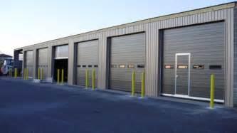 Industrial garage door garage door