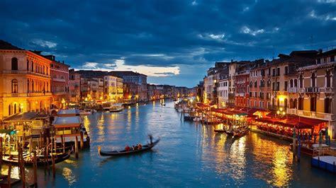 venice canals lights fondos de pantalla las luces canal de venecia en la