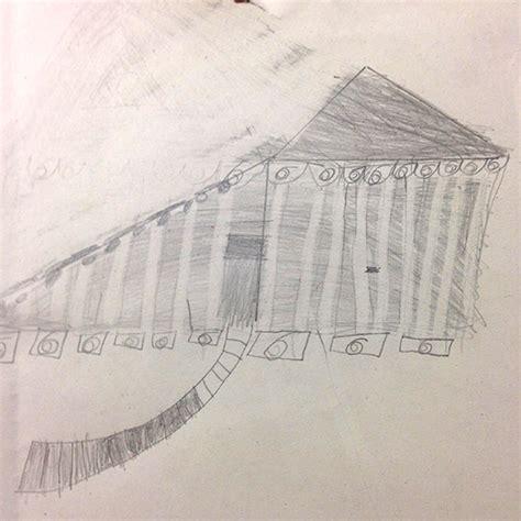 How To Draw The Parthenon