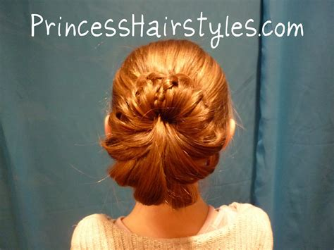 braid wrapped chignon updos cute girls hairstyles braid wrapped bun hairstyles for girls princess hairstyles
