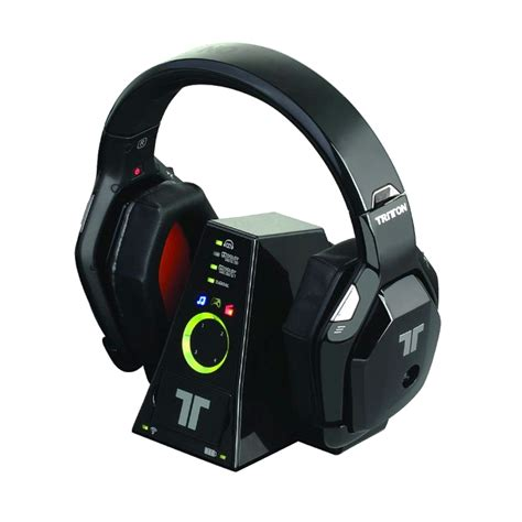 Headset Dolby 7 1 tritton warhead 7 1 dolby wireless surround headset for
