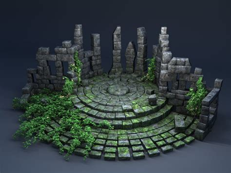 3d Models Sanctuary sanctuary 3d c4d