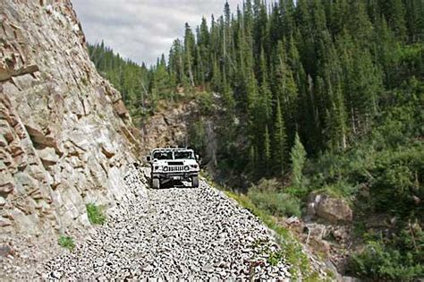 Shelf Road Colorado by Schofield Pass In A Hummer