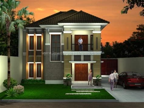 desain rumah dua lantai 12 desain rumah minimalis modern 2 lantai mewah pictures