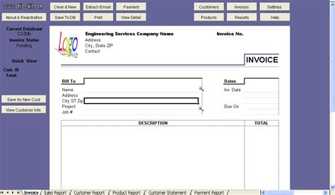 Download the Free Invoice Template for Excel   Excel