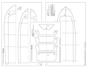 build template for balsa wood boat diy woodworking plans