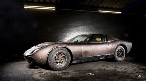 The Price Of Lamborghini 1969 Lamborghini Miura Fails To Meet Reserve Price At