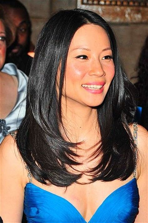 Lucy Liu Straight Hair The Glossiest A List Styles Instyle Uk | 17 best images about hot women on pinterest