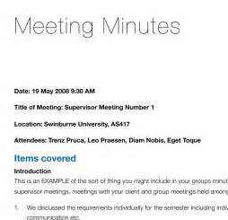Writing Up Minutes Template by Minutes Of Meeting Sle Template