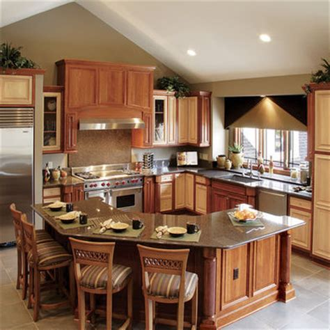 kitchen island decor ideas l shaped kitchen island design pictures remodel decor and ideas page 2 home decoz