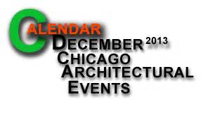 Repeat Chicago Architectural Events Calendar For