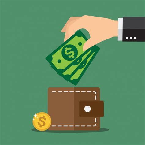 home design free money savings background design vector free download