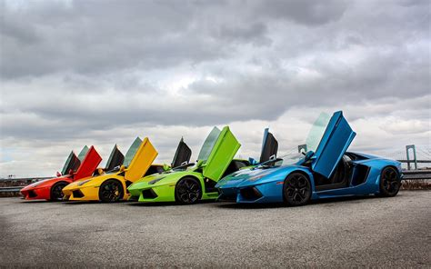 rainbow lamborghini lamborghini supercars rainbow wallpaper mega wallpapers