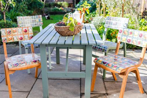 Decoupage For Outdoors - furniture decoupage 30 ideas and master classes to