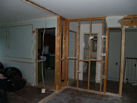 how to drywall a room living room wall drywall removed geeky engineer
