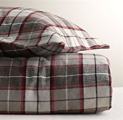 plaid flannel comforter lodge plaid flannel duvet cover