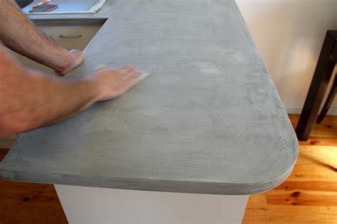 Concrete Patio Bench Diy Concrete Countertop