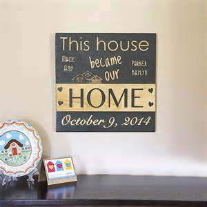 home gifts new home sign new home housewarming gift new home